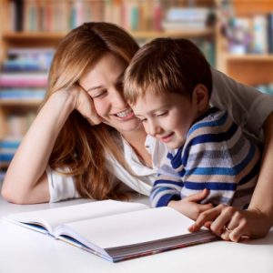mom-and-son-reading-a-book