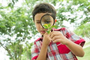 young-boy-looking-through-magnifying-glass