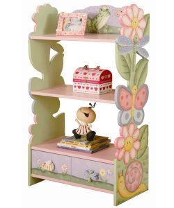 childrens-floral-bookcase