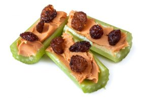 ants-on-a-log-celery-peanut-butter