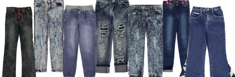 Trend Alert: Adventurous New Styles & Cuts in Girls' Denim
