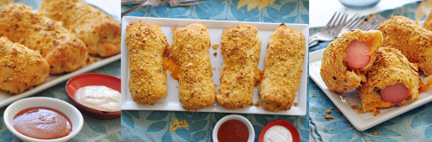 Cookie's Cooks: Crunchy Nacho Crescent Dogs
