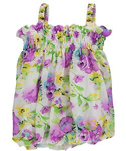 bubble-hem-dress-with-floral-print
