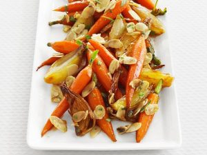 glazed-baby-carrots-with-almonds-and-tarragon