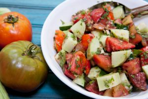 herbed-cucumber-and-tomato-salad