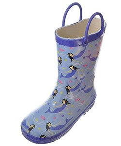 mermaid-rainboots