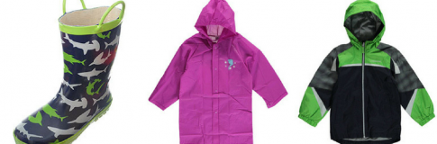 Rain, Rain, Go Away: New Spring Rain Gear!
