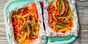grilled-sausage-and-peppers
