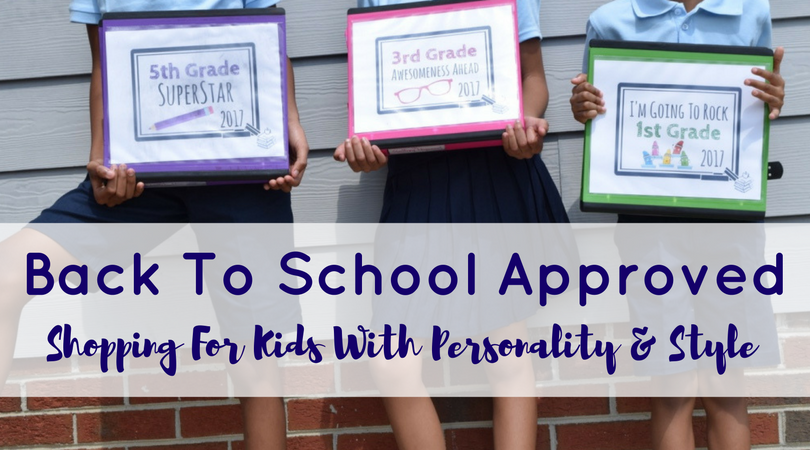 Back To School Approved: Shopping For Kids With Personality & Style
