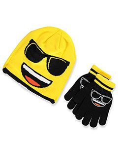 emoji-winter-beanie-and-mittens