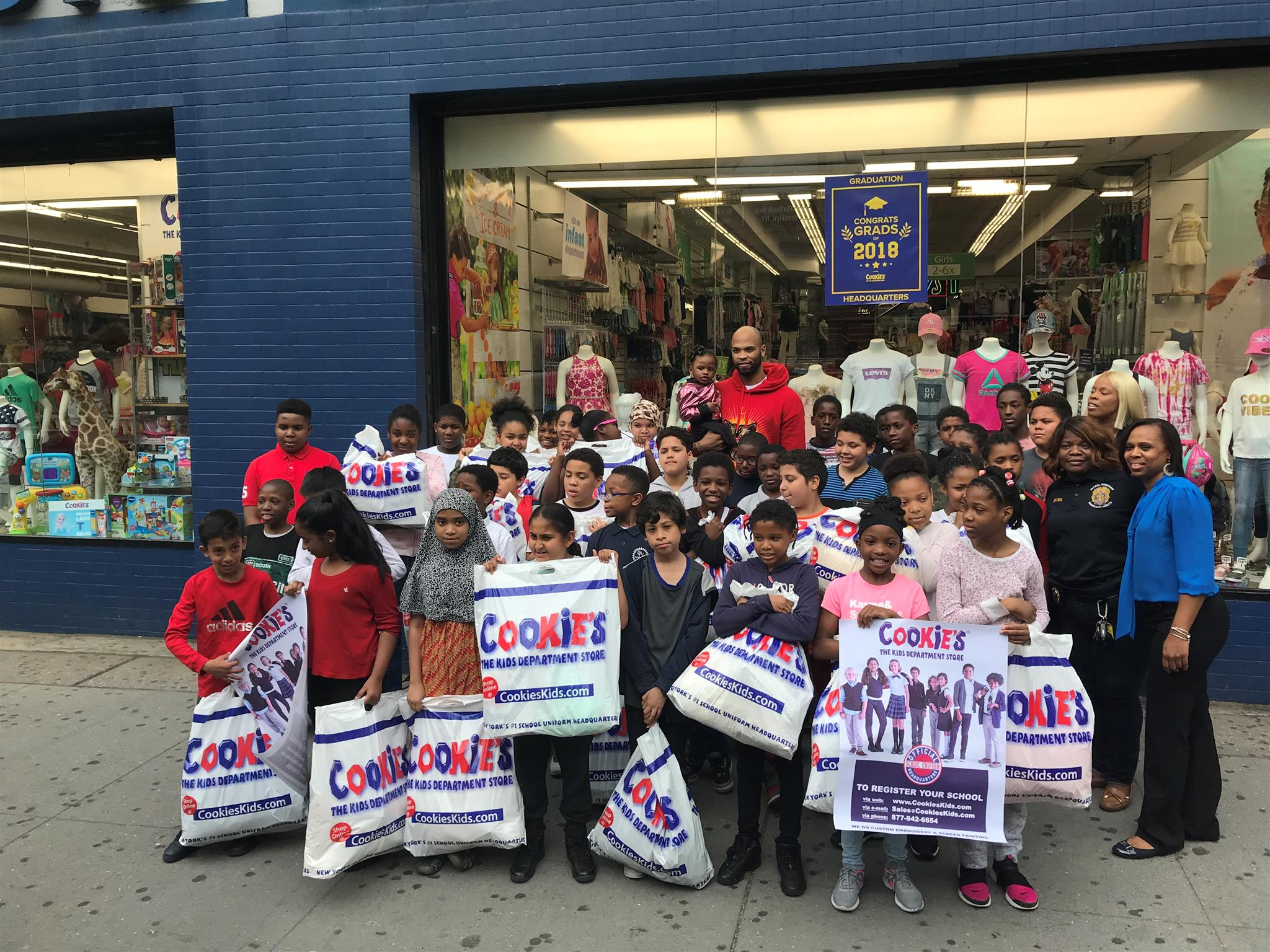 NBA Star Taj Gibson Surprises 5th Graders with Cookie's Shopping Spree