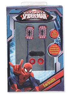 spiderman-earbuds